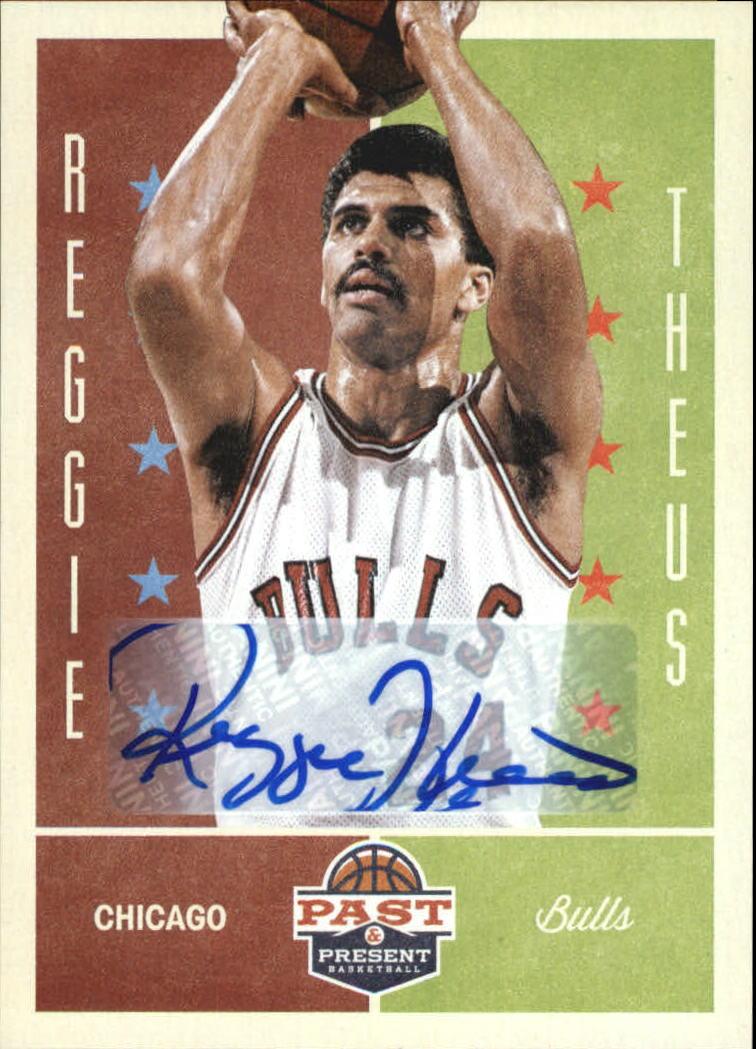 2012-13 Panini Past and Present Signatures #89 Reggie Theus