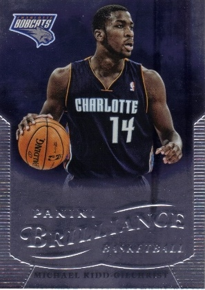 2012-13 Panini Brilliance #256 Michael Kidd-Gilchrist RC