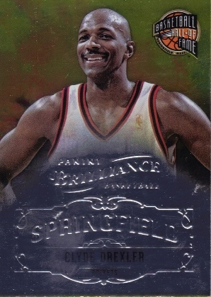 2012-13 Panini Brilliance Springfield #4 Clyde Drexler