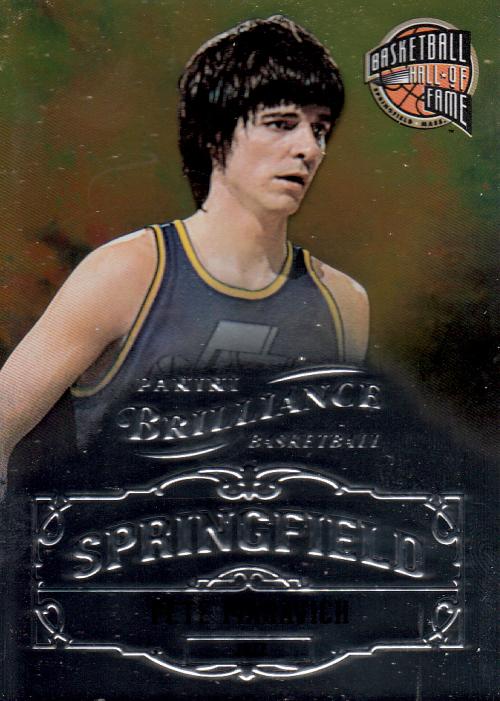 2012-13 Panini Brilliance Springfield #9 Pete Maravich