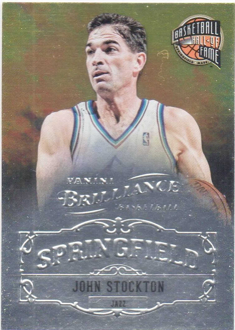 2012-13 Panini Brilliance Springfield #14 John Stockton
