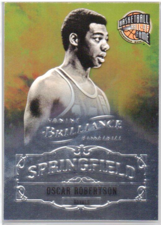 2012-13 Panini Brilliance Springfield #24 Oscar Robertson