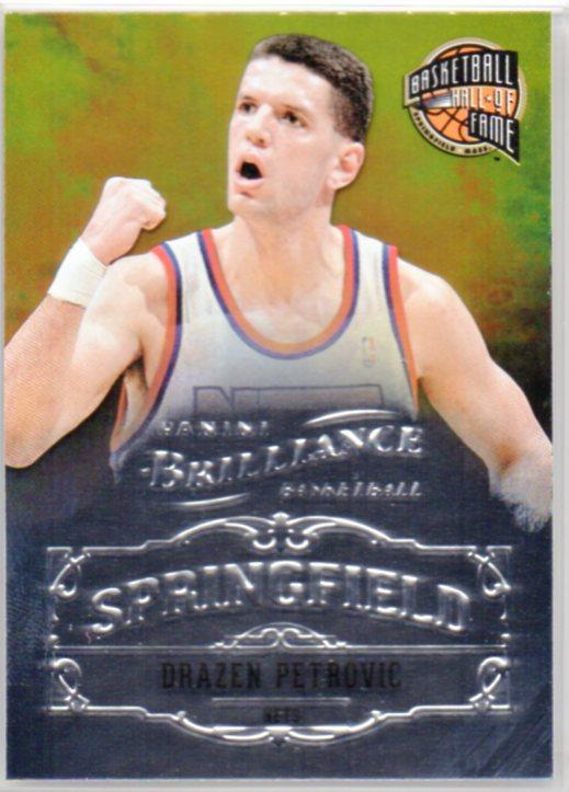 2012-13 Panini Brilliance Springfield #25 Drazen Petrovic