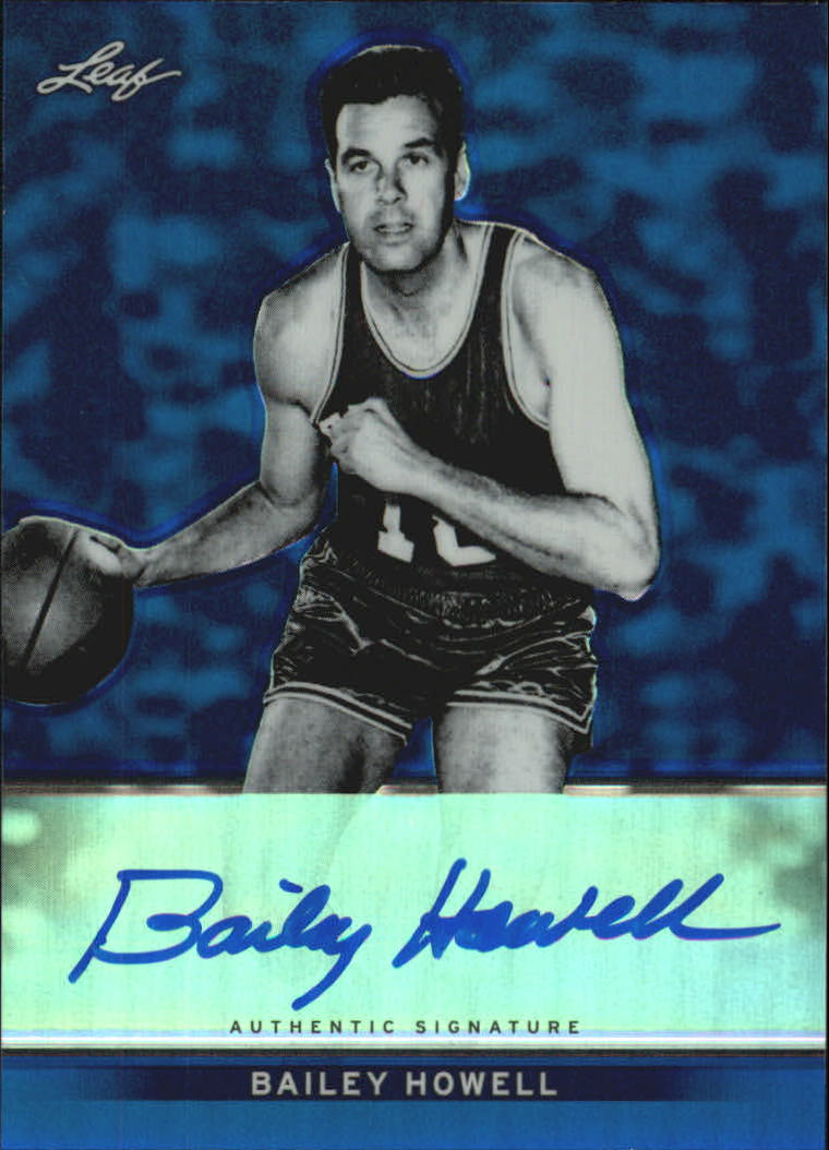 2012-13 Leaf Metal Holo Blue #BABH1 Bailey Howell