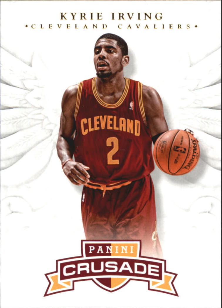 2012-13 Panini Crusade #98 Kyrie Irving RC