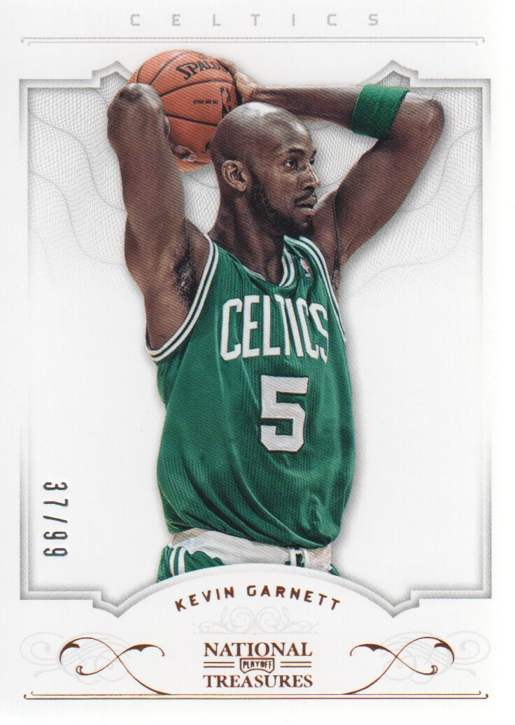 2012-13 Panini National Treasures #6 Kevin Garnett