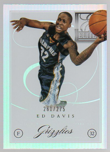 2012-13 Elite Series #16 Ed Davis