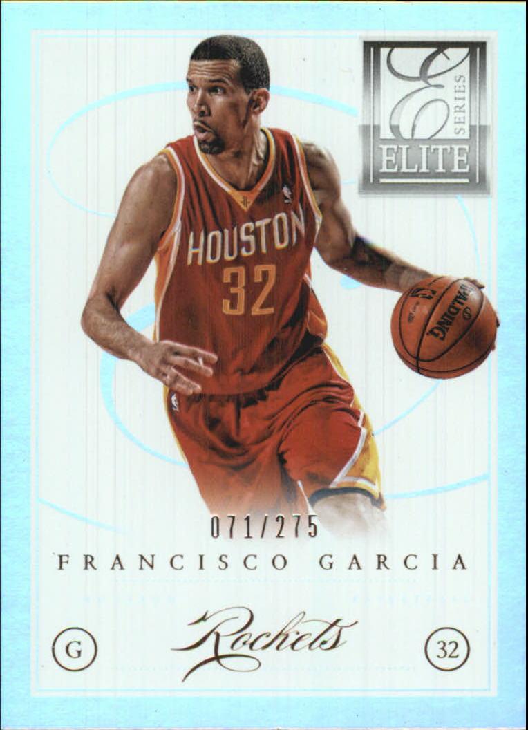 2012-13 Elite Series #30 Francisco Garcia