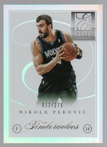 2012-13 Elite Series #86 Nikola Pekovic