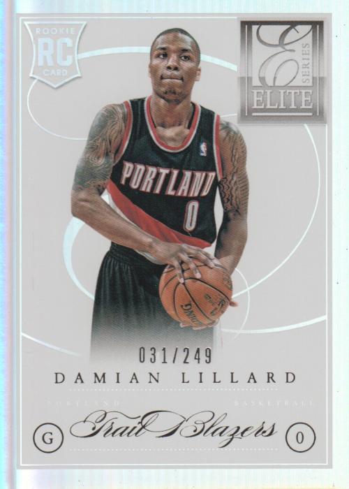 2012-13 Elite Series #201 Damian Lillard RC