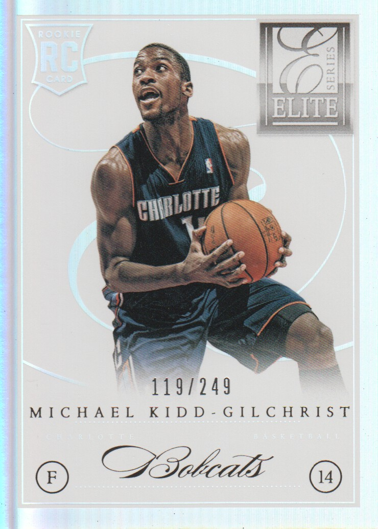 2012-13 Elite Series #261 Michael Kidd-Gilchrist RC