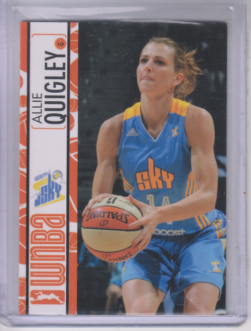 2013 WNBA #9 Allie Quigley RC