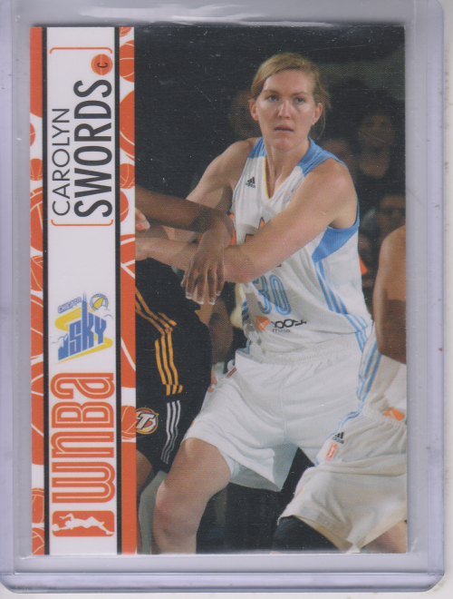 2013 WNBA #10 Carolyn Swords RC