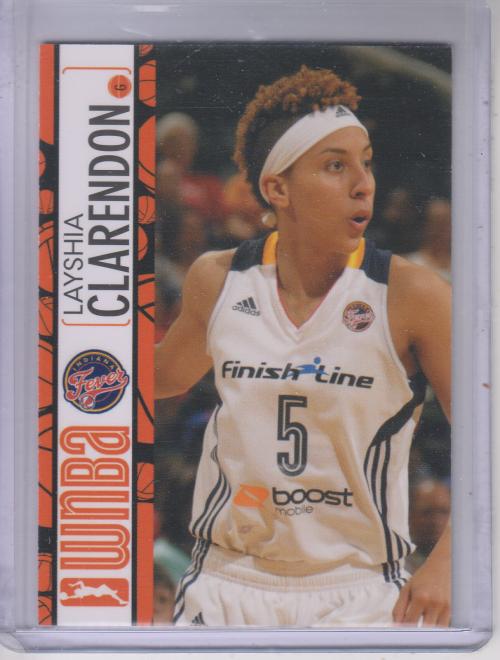 2013 WNBA #30 Layshia Clarendon RC