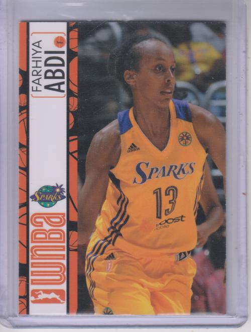 2013 WNBA #36 Farhiya Abdi RC