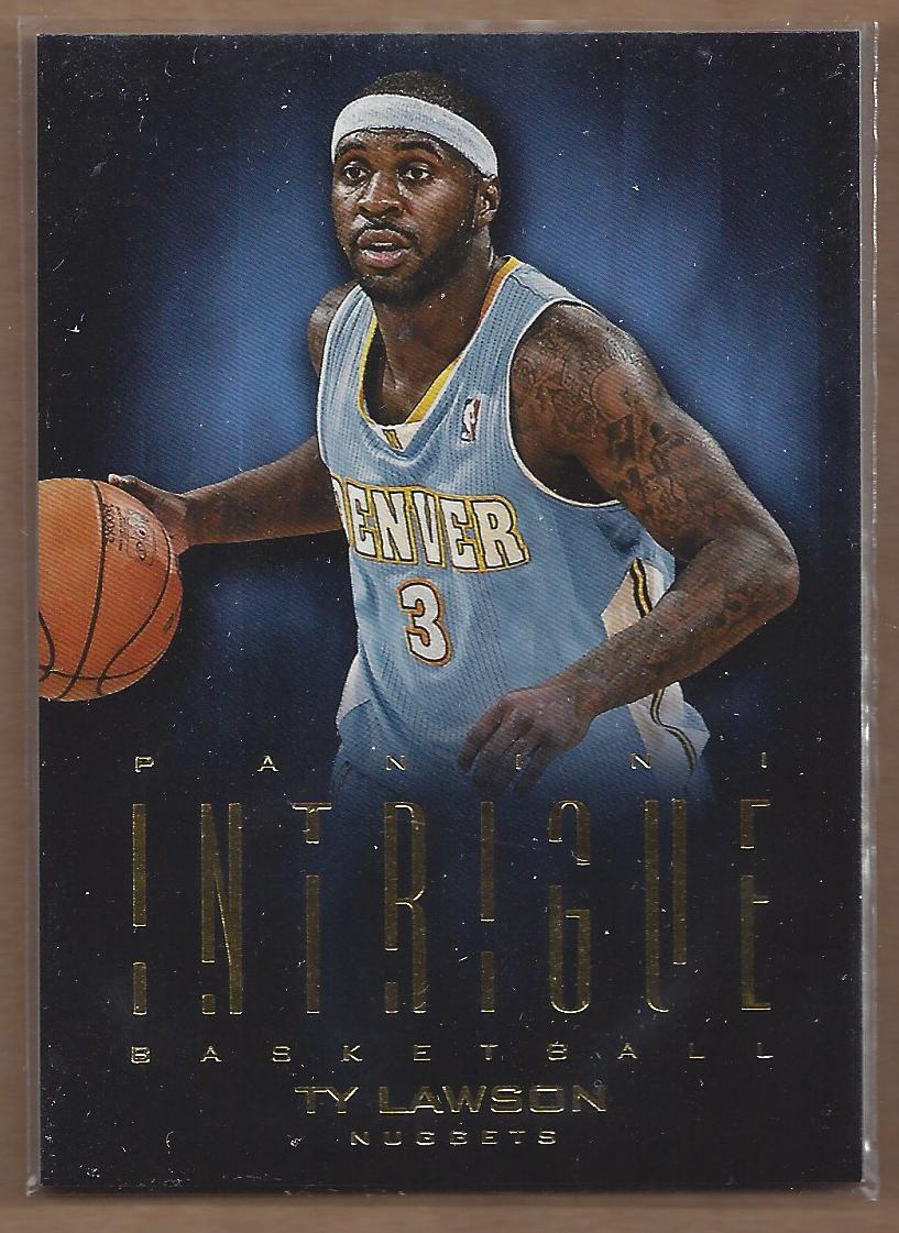 2012-13 Panini Intrigue #1 Ty Lawson