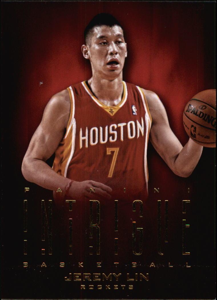 2012-13 Panini Intrigue #13 Jeremy Lin