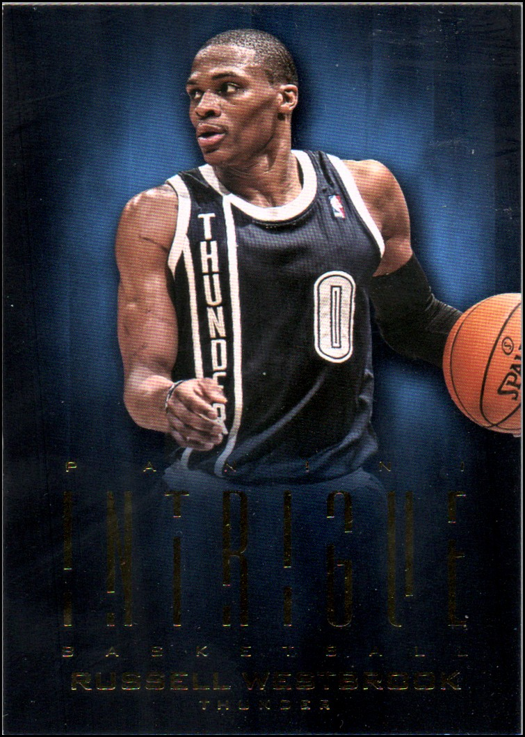 2012-13 Panini Intrigue #16 Russell Westbrook