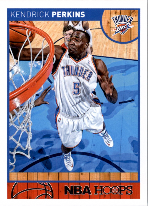 2013-14 Hoops #88 Kendrick Perkins