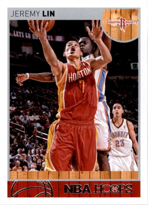 2013-14 Hoops #89 Jeremy Lin