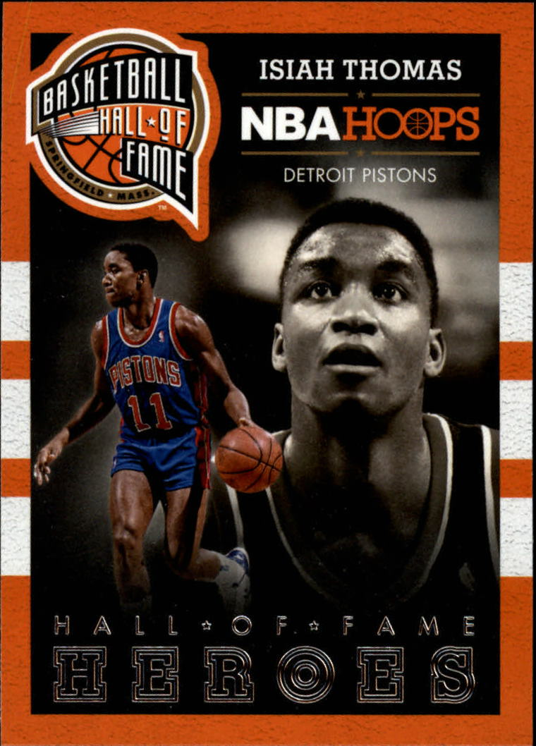 2013-14 Hoops Hall of Fame Heroes #1 Isiah Thomas