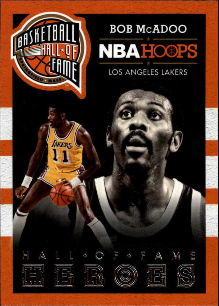 2013-14 Hoops Hall of Fame Heroes #2 Bob McAdoo