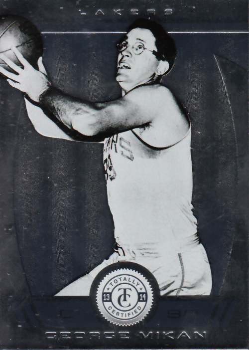 2013-14 Totally Certified #266 George Mikan