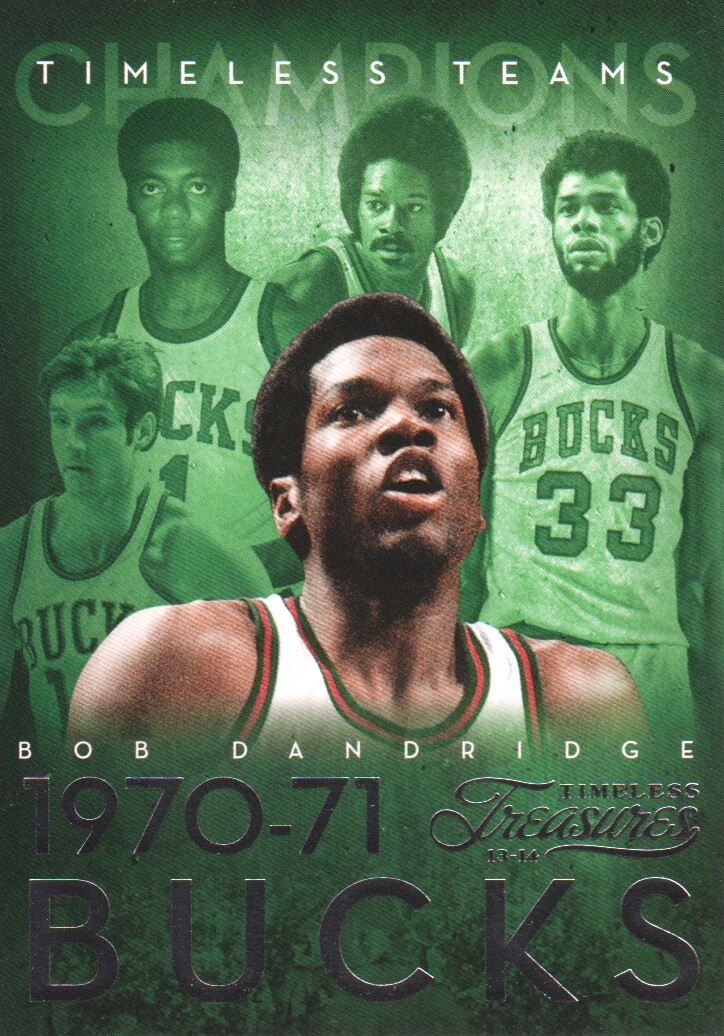 2013-14 Timeless Treasures Timeless Teams #31 Bob Dandridge