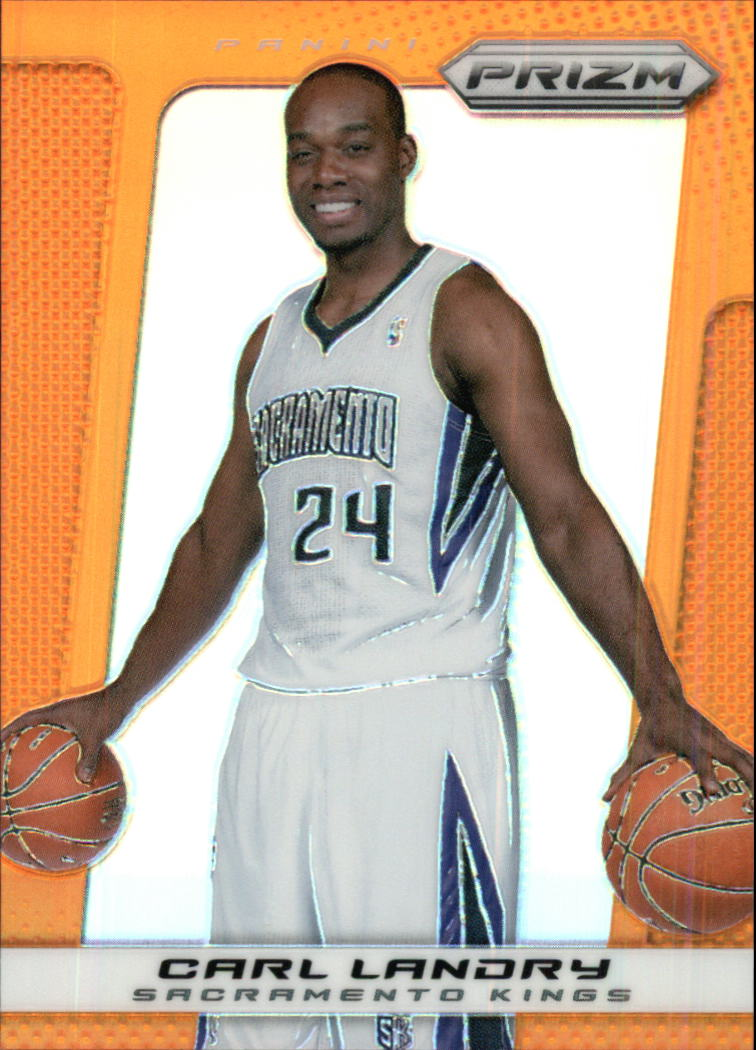2013-14 Panini Prizm Prizms Orange #6 Carl Landry