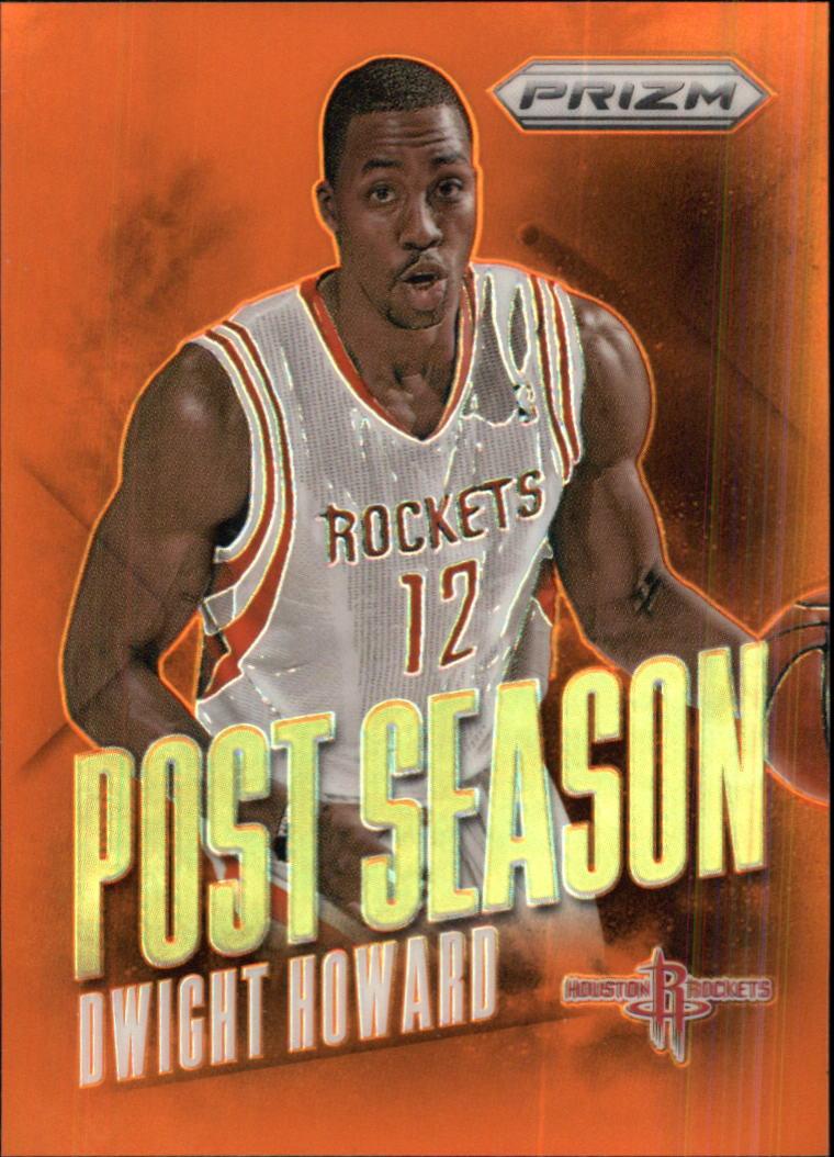 2013-14 Panini Prizm Post Season Prizms Orange #4 Dwight Howard