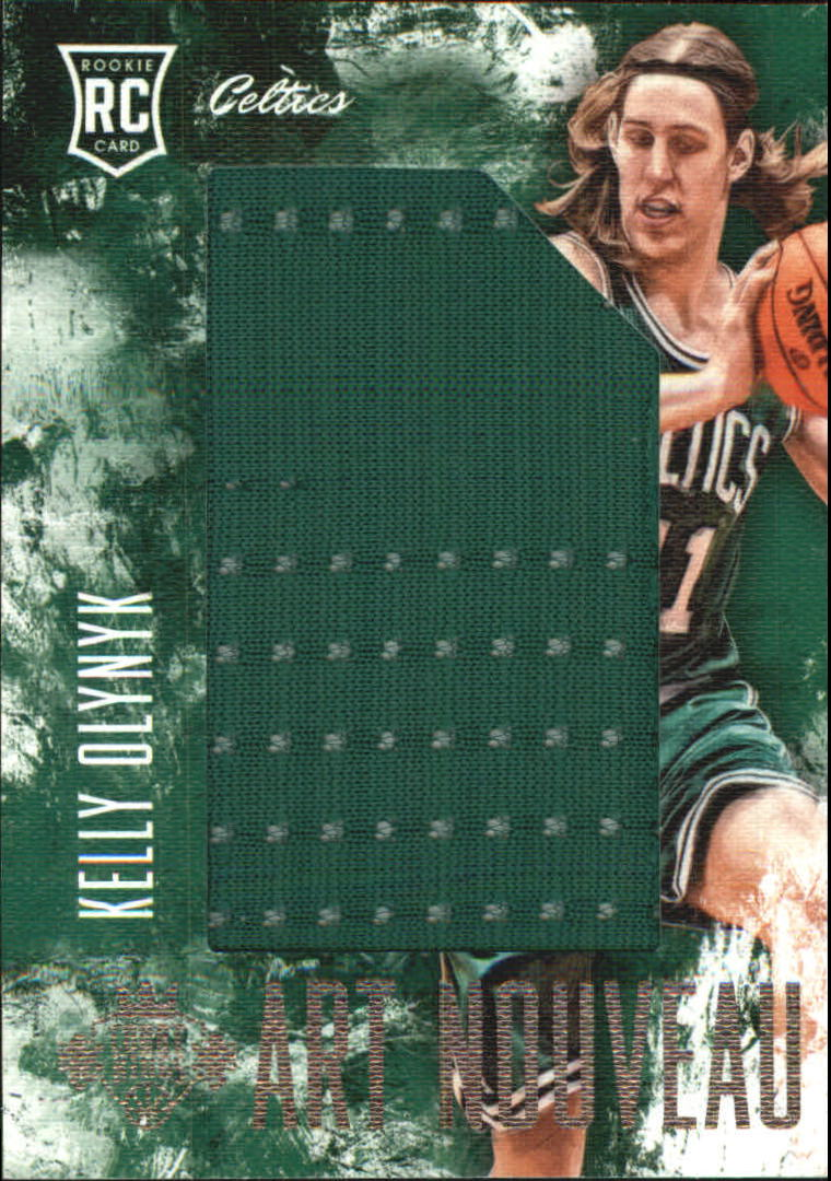 2013-14 Court Kings Art Nouveau Jerseys #2 Kelly Olynyk