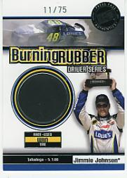 2007 Press Pass Burning Rubber Drivers #BRD6 Jimmie Johnson/Talladega 5-1