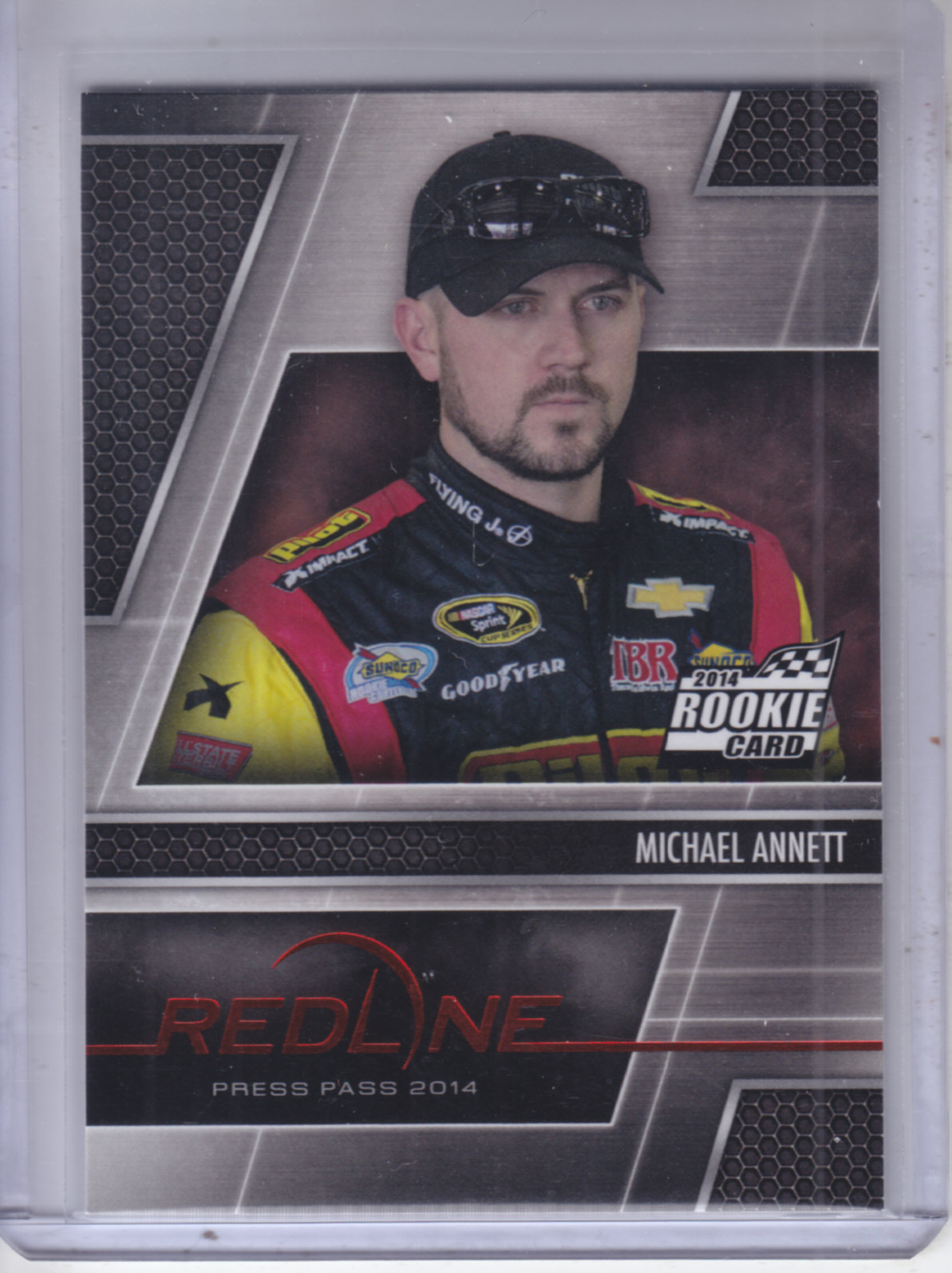 2014 Press Pass Redline #6 Michael Annett RC