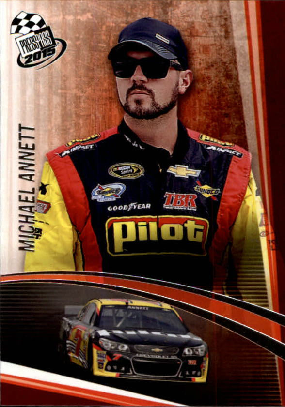 2015 Press Pass #4 Michael Annett
