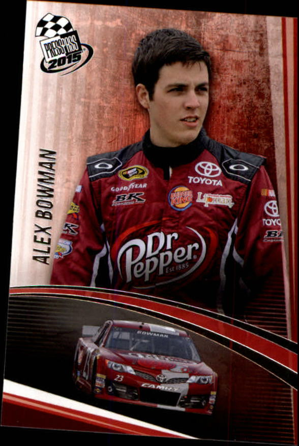 2015 Press Pass #7 Alex Bowman