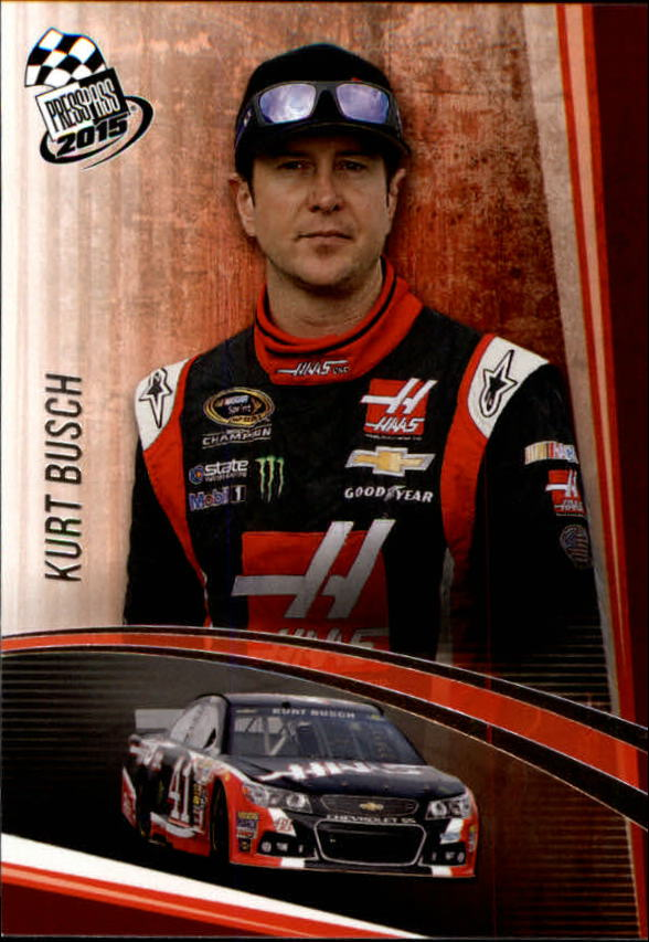 2015 Press Pass #9 Kurt Busch