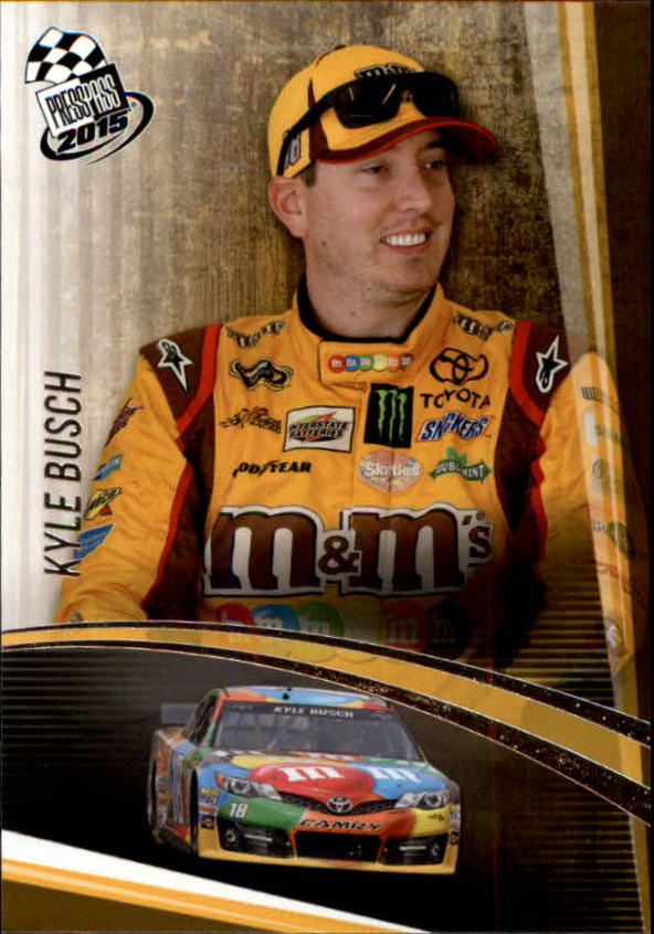 2015 Press Pass #10 Kyle Busch
