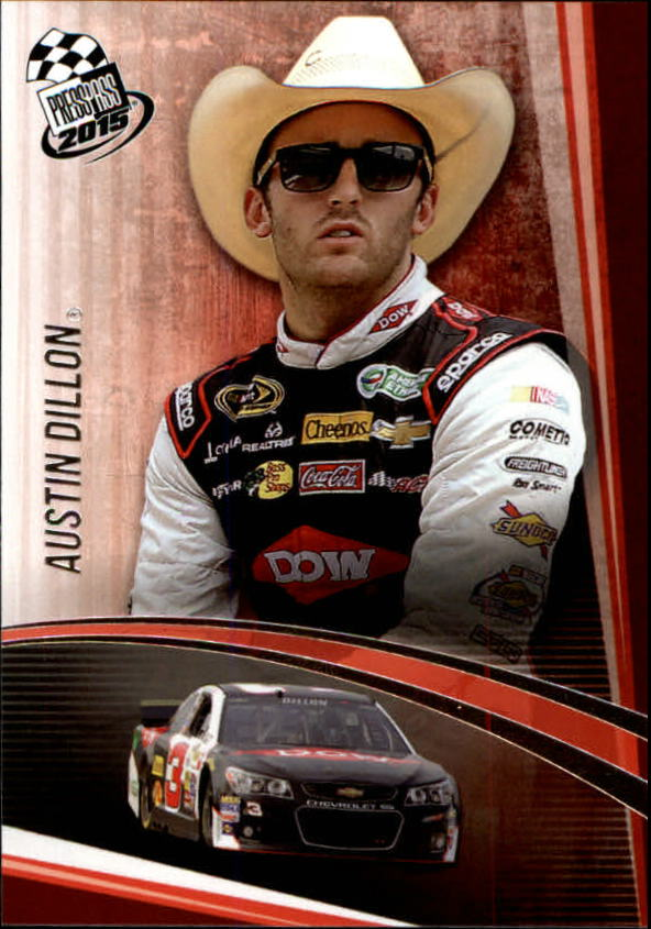 2015 Press Pass #11 Austin Dillon