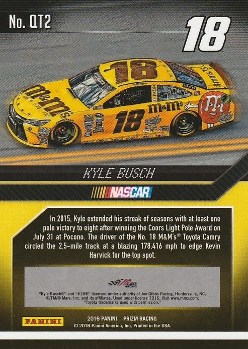 2016-Panini-Prizm-Racing-Assorted-Inserts-You-Pick-Buy-10-cards-FREE-SHIP thumbnail 19