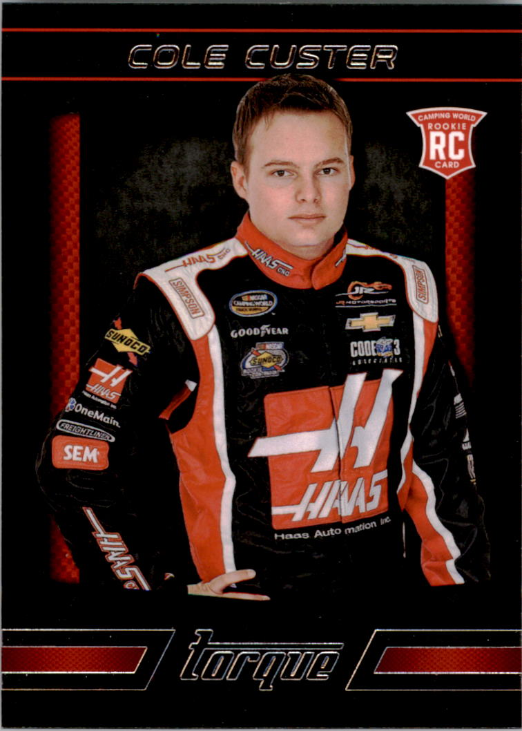 2016 Panini Torque #69 Cole Custer RC