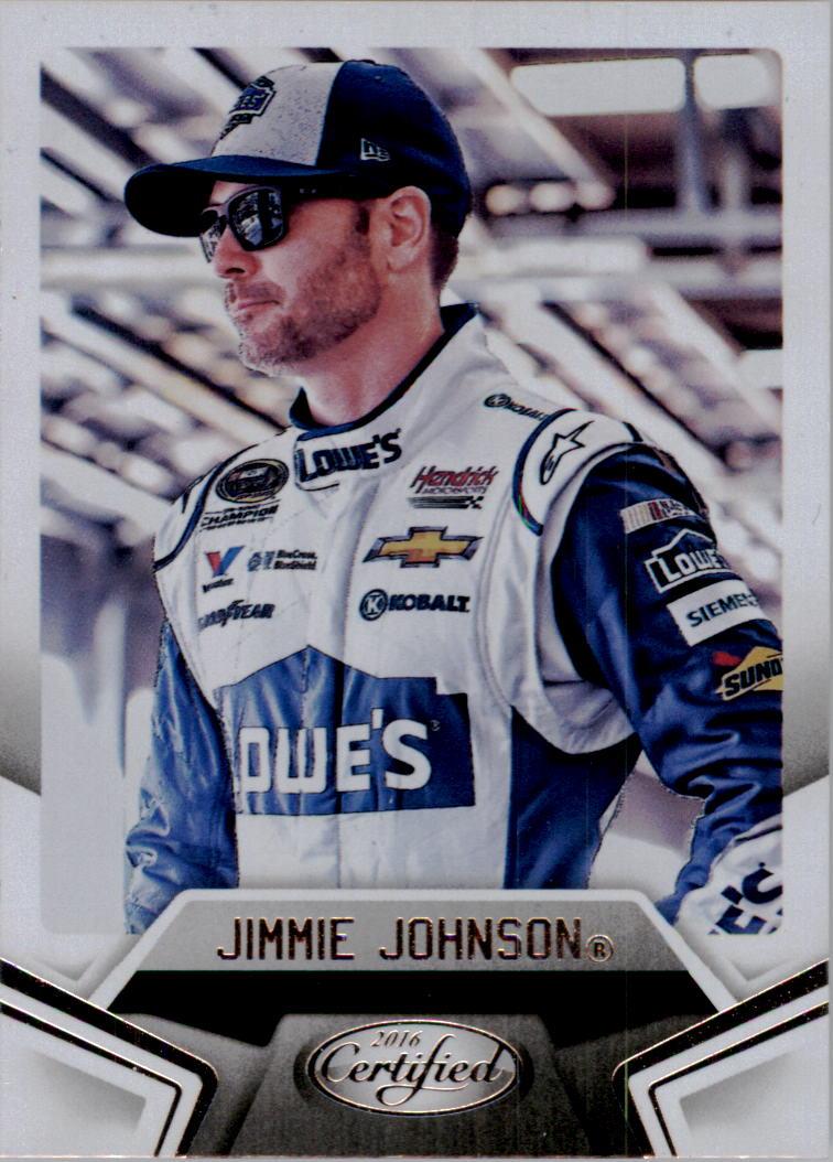 2016 Certified #5 Jimmie Johnson