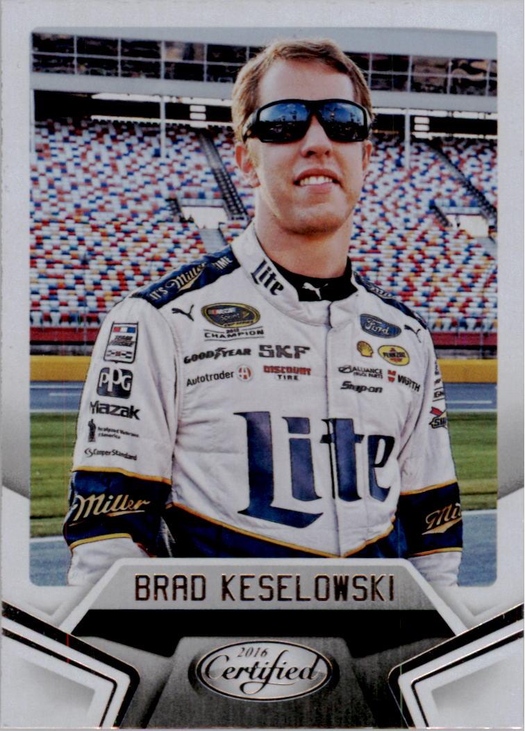 2016 Certified #6 Brad Keselowski