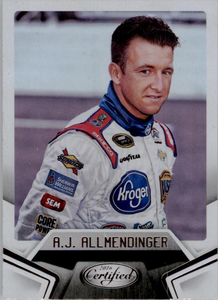 2016 Certified #15 A.J. Allmendinger