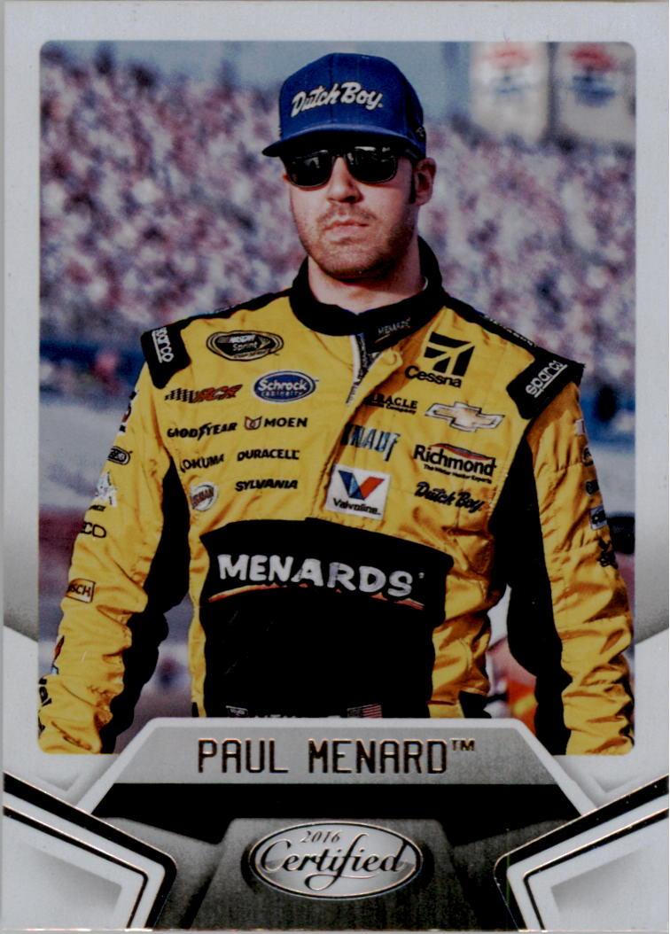 2016 Certified #20 Paul Menard