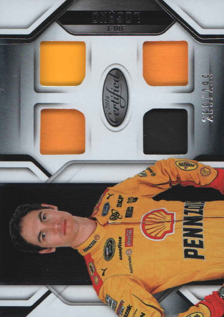 2016 Certified Complete Materials #10 Joey Logano/299