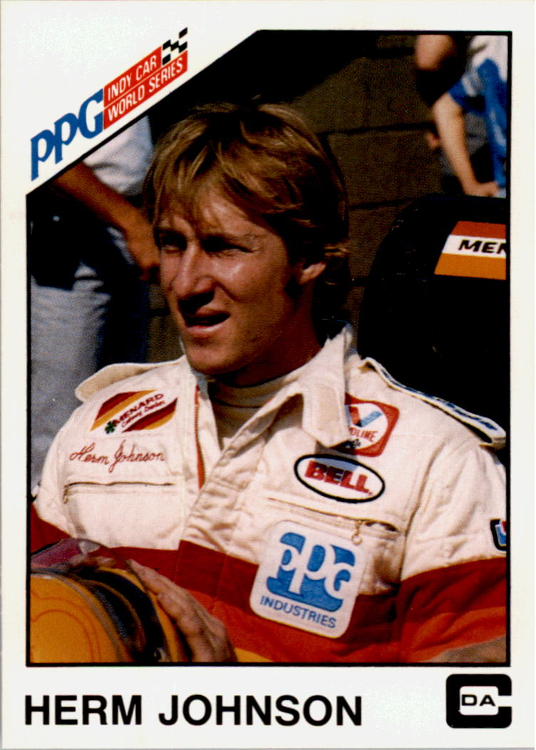 1983 A and S Racing Indy #14 Herm Johnson