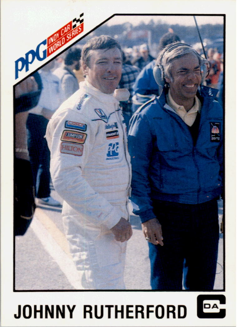 1983 A and S Racing Indy #21 Johnny Rutherford