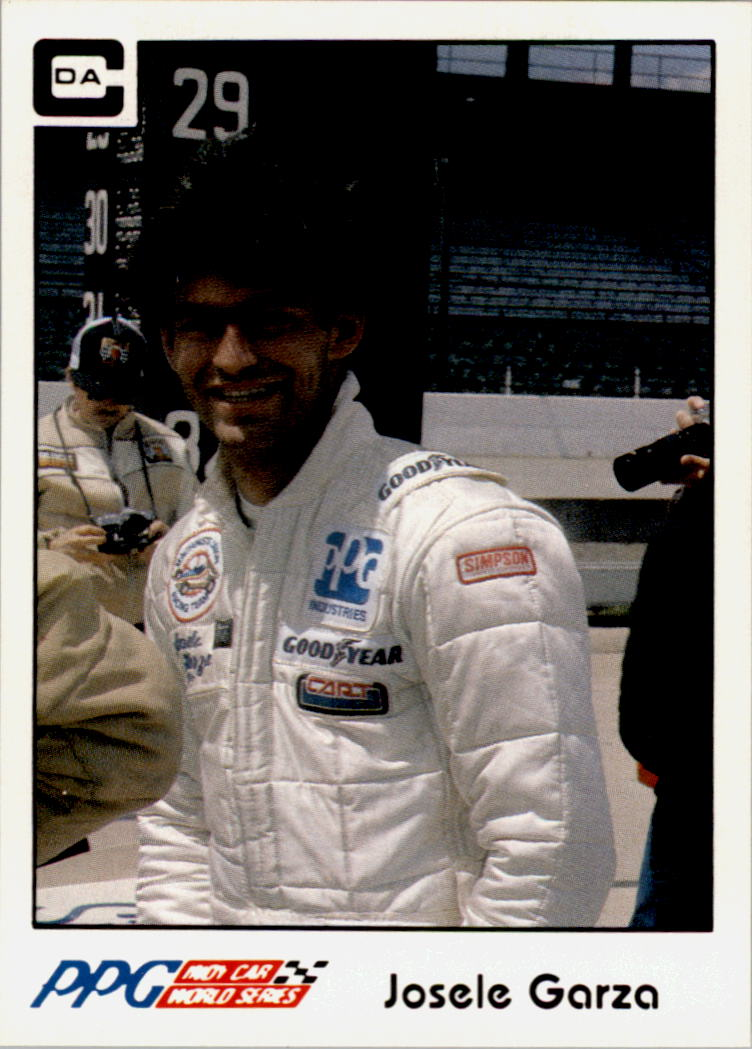 1984 A and S Racing Indy #15 Josele Garza