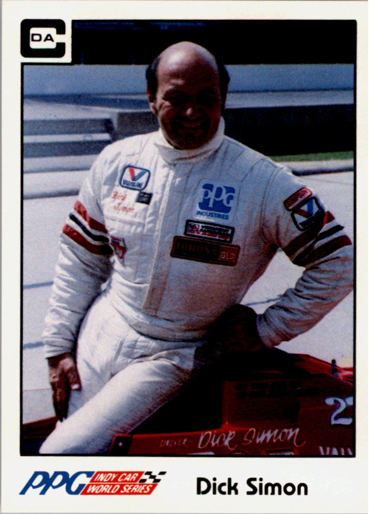 1984 A and S Racing Indy #24 Dick Simon