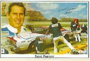 1985 SportStars Photo-Graphics Stickers #NNO David Pearson ERR